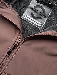 Mikk-Line - Softshell Girls Jacket - softshell jassen - burlwood - 6