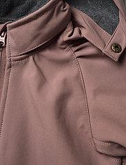 Mikk-Line - Softshell Girls Jacket - softshell jassen - burlwood - 7
