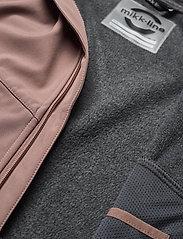 Mikk-Line - Softshell Girls Jacket - softshell jassen - burlwood - 8
