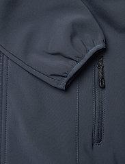 Mikk-Line - Softshell Girls Coat - softshell-jakker - blue nights - 4