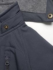 Mikk-Line - Softshell Boys Suit - bovenkleding - blue nights - 6