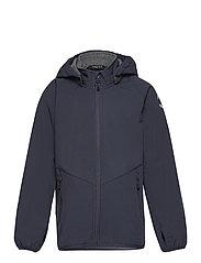 Softshell Boys Jacket - BLUE NIGHTS