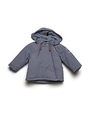 NYLON Baby jacket - Solid - CHINA BLUE