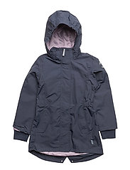 NYLON Girls coat - Solid - 287 BLUE NIGHTS