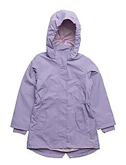 NYLON Girls coat - Solid - 709 DAY BREAK PURPLE
