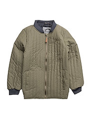 DUVET jacket - 364 DUSTY OLIVE