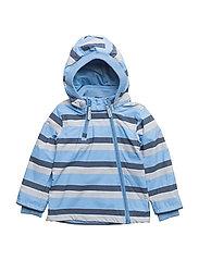 NYLON Baby jacket - Stribes - 145 MONUMENT GREY