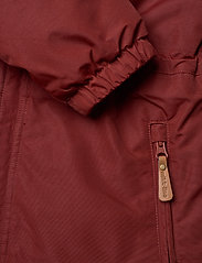 Mikk-Line - Nylon Junior Suit Solid - snowsuit - madder brown - 4