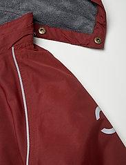 Mikk-Line - Nylon Junior Suit Solid - snowsuit - madder brown - 5