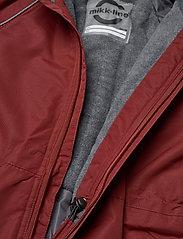 Mikk-Line - Nylon Junior Suit Solid - snowsuit - madder brown - 7