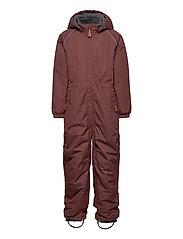 Nylon Junior Suit Solid - MARRON