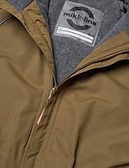 Mikk-Line - Nylon Junior Suit Solid - snowsuit - military olive - 3