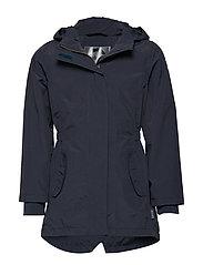 Nylon girl summer coat - BLUE NIGHTS