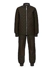 Duvet Set - No Fleece - BLACK OLIVE