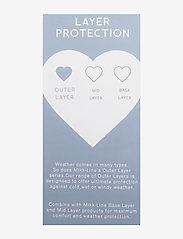 Mikk-Line - Polyester Tussor Baby Girl Jacket AOP - shell jassen - cafe au lait - 3