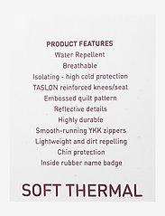 Mikk-Line - Soft Thermo Recycled Boy Jacket - termojakke - blue nights - 3