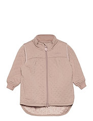 Soft Thermo Recycled Girl Jacket - ADOBE ROSE