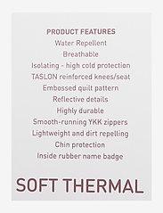 Mikk-Line - Soft Thermo Recycled Girl Jacket - termojakke - adobe rose - 2