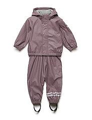 PU rainwear with fleece - FLINT