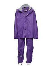 PU RAIN set - DARK VIOLET