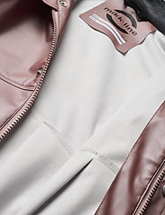 Mikk-Line - PU Metalic Rain Set Rec. w. Susp/110 - sets & suits - adobe rose - 8