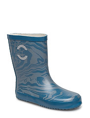 Wellies - AOP - 268 AEGEAN BLUE