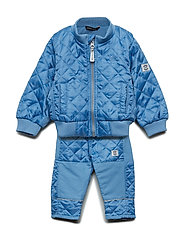 THERMO set w/fleece - 209 PARISIAN BLUE
