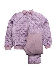 THERMO set w/fleece - 713 VERY GRAPE