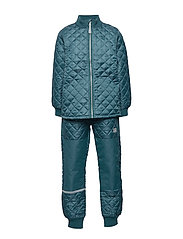 THERMO set - no fleece - INDIAN TEAL