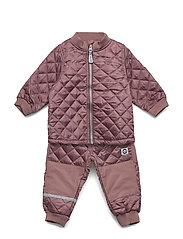 THERMO set - no fleece - ROSE TAUPE