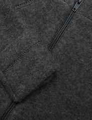 Mikk-Line - WOOL Baby jacket - uldtøj - anthracite melange - 2