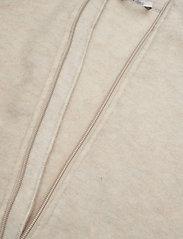 Mikk-Line - WOOL jacket - uldtøj - 429/melangeoffwhite - 3