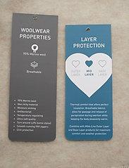 Mikk-Line - WOOL jacket - uldtøj - 429/melangeoffwhite - 4