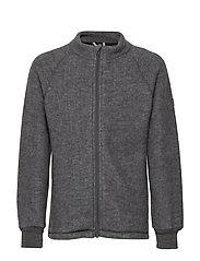 WOOL jacket - 916/MELANGEGREY