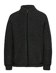WOOL jacket - ANTHRACITE MELANGE