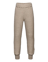 WOOL Pants - MELANGE OFFWHITE