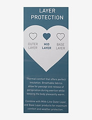 Mikk-Line - Wool Baby Suit - termo sæt - anthracite melange - 2