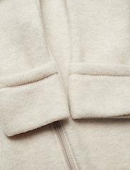 Mikk-Line - Wool Baby Suit - basislag - melange offwhite - 2