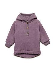 Wool Jacket w. Hood - FLINT