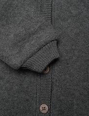 Mikk-Line - Wool Baby Suit w. Hood - basislag - anthracite melange - 5
