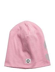 COTTON hat - reflex print - 518 POLIGNAC ROSE
