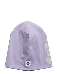 COTTON hat - reflex print - 709 DAY BREAK PURPLE
