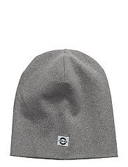 COTTON hat - Solid - LIGHT GREY MELANGE