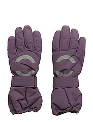 NYLON Junior gloves - MONTANA GRAPE