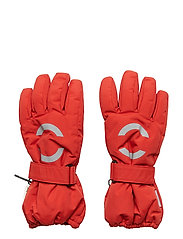 NYLON Junior gloves - POMPEIAN RED