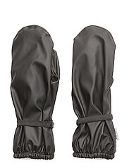PU RAIN mittens with fleece - 190 BLACK