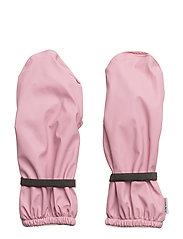 PU RAIN mittens with fleece - 518 POLIGNAC ROSE