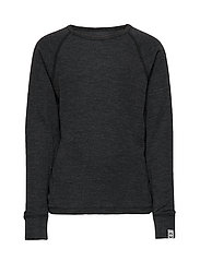 WOOL LS top - LANCASTER GREY MEL