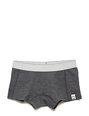 Wool Girls Shorts - LANCASTER GREY MEL