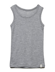 WOOL Top Boys - PEARL GREY MELANGE